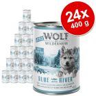 Little Wolf of Wilderness gazdaságos csomag 24 x 400 g