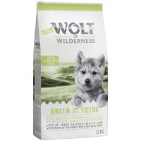 Little Wolf of Wilderness Junior Green Fields, agneau pour chiot