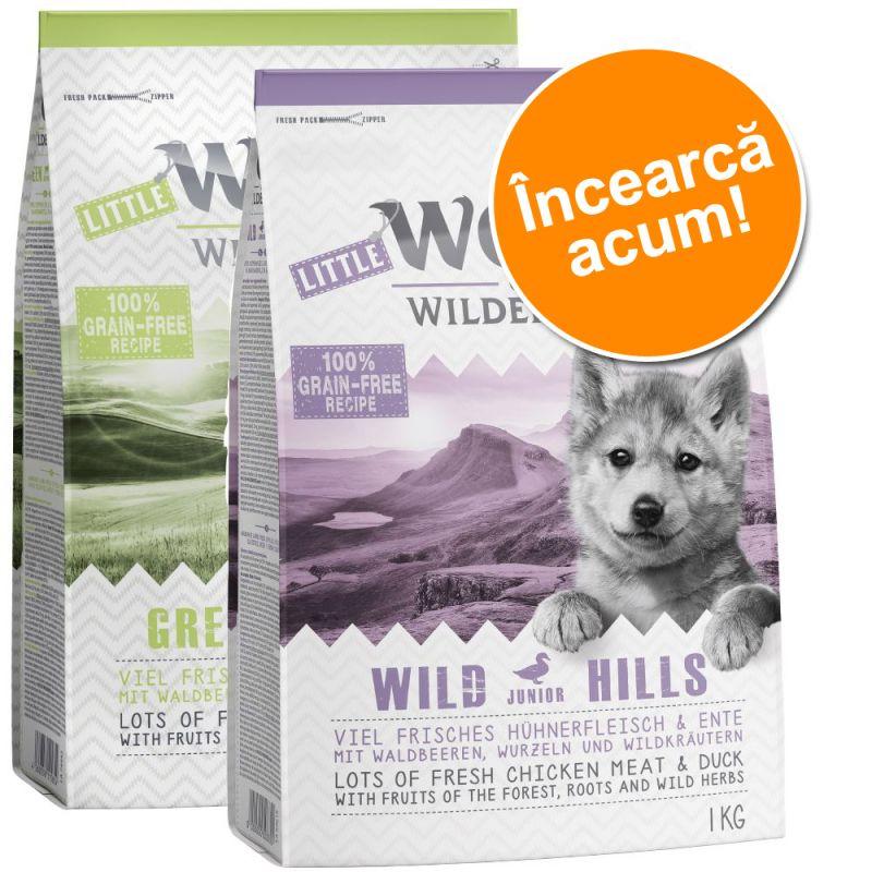 Little Wolf of Wilderness Junior - Pachet de testare (2 x 1 kg)