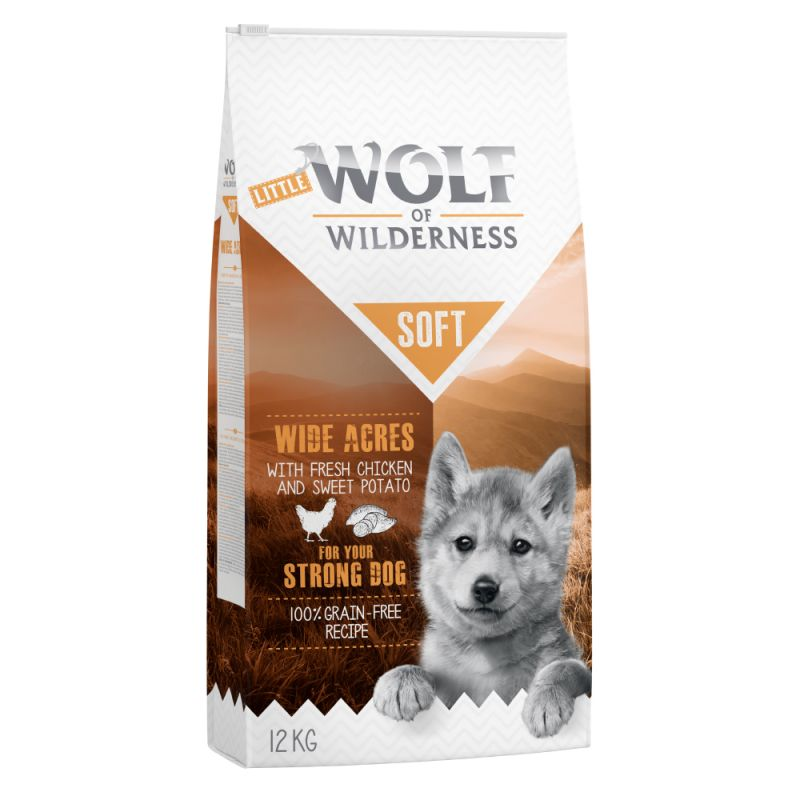"Little Wolf of Wilderness Junior ""Soft - Wide Acres"" - Pollo"