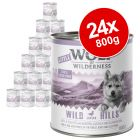 Little Wolf of Wilderness Saver Pack 24 x 800g