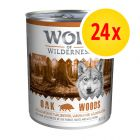 Little Wolf of Wilderness -säästöpakkaus 24 x 800 g