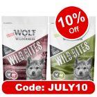 Little Wolf of Wilderness Wild Bites Junior Dog Snacks Mixed Pack