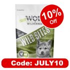 """Little Wolf of Wilderness Wild Bites Junior """"Green Fields"""" - Lamb & Chicken"""