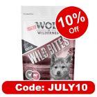 """Little Wolf of Wilderness Wild Bites Junior """"Leafy Willows"""" Veal & Chicken"""