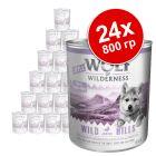 Икономична опаковка: Little Wolf of Wilderness 24 x 800 г