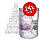 Экономупаковка Little Wolf of Wilderness 24 x 400 г
