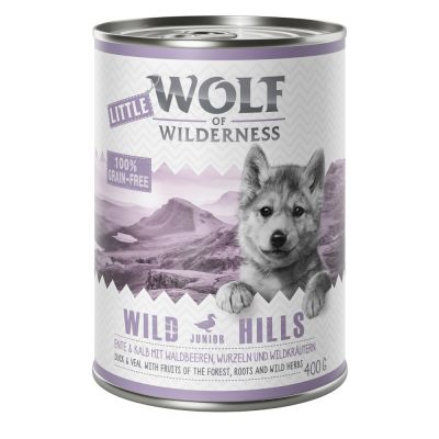 Little Wolf of Wilderness 6 x 400 g