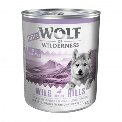 Little Wolf of Wilderness 6 x 800 g Hondenvoer