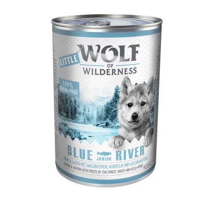 Little Wolf of Wilderness 24 x 400 g - Pack económico