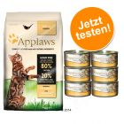 Lot 400 g de croquettes Applaws + 6 x 70 g de pâtée Applaws pour chat