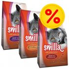 Lot 3 saveurs Smilla Adult 3 x 4 kg
