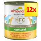 Lot Almo Nature Classic 12 x 280 g / 290 g