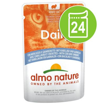 Lot Almo Nature Daily 24 x 70 g