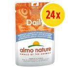 Lot Almo Nature Daily Menu 24 x 70 g