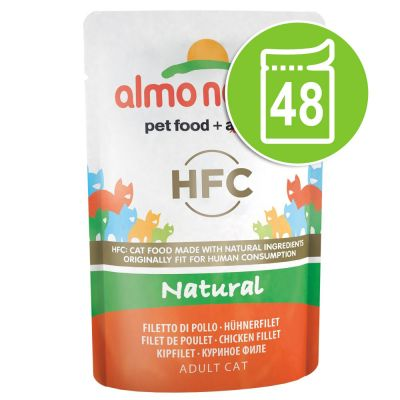 Lot Almo Nature HFC 48 x 55 g pour chat