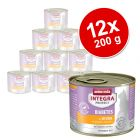 Lot Animonda Integra Protect Adult Diabète 12 x 200 g pour chat
