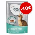 Lot Concept for Life 48 x 85 g pour chat : 10 € de remise !