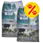 Lot économique Taste of the Wild 2 x 13 kg