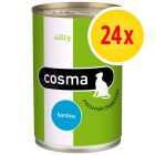 Lot Cosma Original en gelée 24 x 400 g