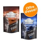 Lot découverte : Wild Freedom Filets de poulet et thon pour chat 2 x 100 g