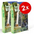Lot de croquettes pour chat Taste of the Wild 2 x 7 kg