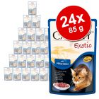 Lot de sachets fraîcheur Animonda Carny Exotic 24 x 85 g