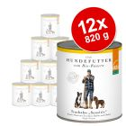Lot Defu Bio Sensitive 12 x 820 g pour chien