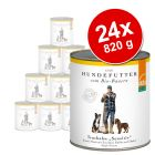 Lot Defu Bio Sensitive 24 x 820 g pour chien