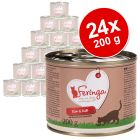 Lot Feringa Classic Meat Menu 24 x 200 g pour chat