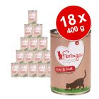Lot Feringa Classic Meat Menu 18 x 400 g pour chat