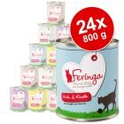 Lot Feringa Menus Duo 24 x 800 g pour chat