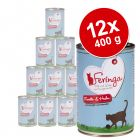 Lot Feringa Menus Duo 12 x 400 g pour chat