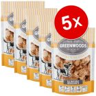 Lot Greenwoods Nuggets 5 x 100 g pour chien