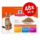 Lot Hill's Science Plan 48 x 85 g pour chat