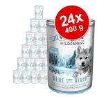 Lot Little Wolf of Wilderness 24 x 400 g pour chiot