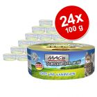 Lot MAC's Fin Gourmet 24 x 100 g pour chat