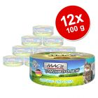 Lot MAC's Fin Gourmet 12 x 100 g pour chat