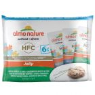 Lot mixte Almo Nature HFC 6 x 55 g pour chat