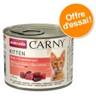 Lot mixte Animonda Carny Kitten 12 x 200 g pour chaton