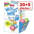 Lot mixte Animonda Milkies pour chat 20 x 15 g + 5 offertes !