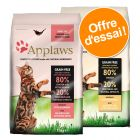 Lot mixte Applaws 2 x 400 g pour chat