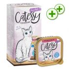 Lot mixte Catessy 8 x 100 g pour chat : points bonus doublés !