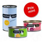 Lot mixte Cosma Original + Thai + Nature pour chat