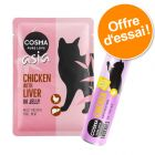 Lot mixte Cosma Snackies XXL + Cosma Thai/Asia pour chat