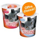 Lot mixte de friandises Smilla Hearties + Smilla Toothies pour chat