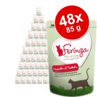 Lot mixte Feringa 48 x 85 g pour chat