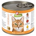 Lot mixte Granatapet 6 x 200 g pour chat