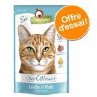 Lot mixte GranataPet DeliCatessen 12 x 85 g pour chat