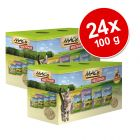 Lot mixte MAC's 24 x 100 g pour chat